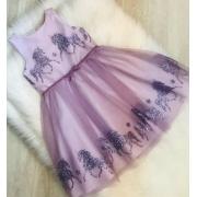 Vestido Petit Cherie Lilás Unicórnio 298