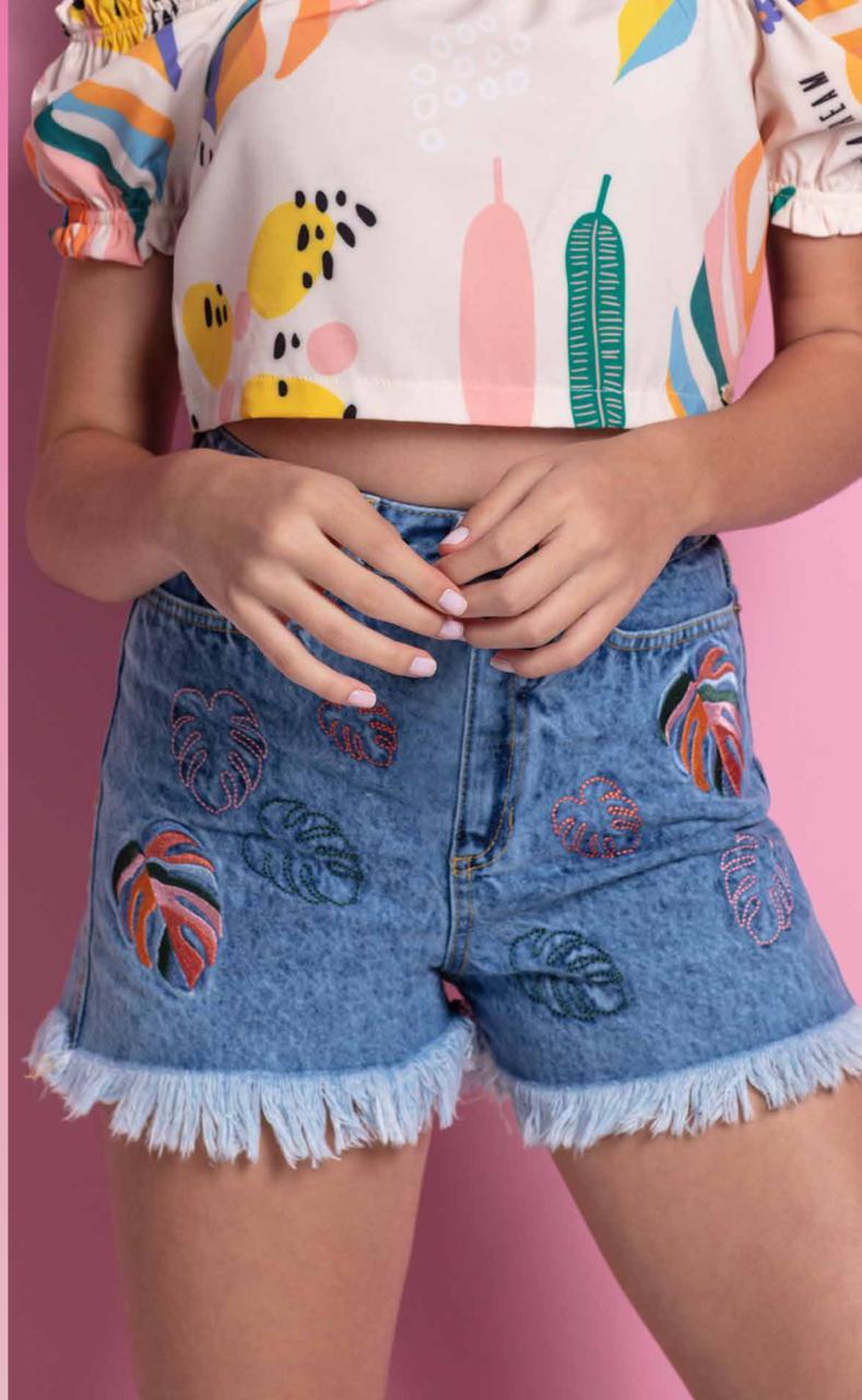 Shorts Jeans Vanilla Cream