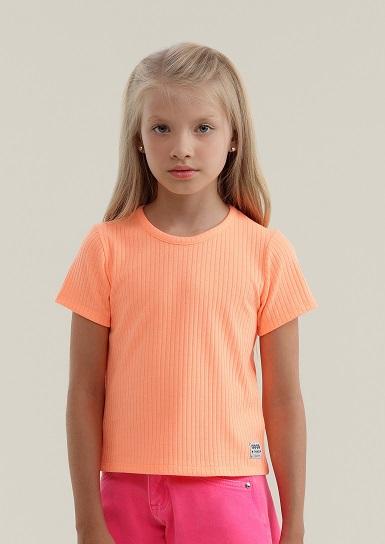 T-SHIRT INFANTIL PETIT CHEIRE NEON 070