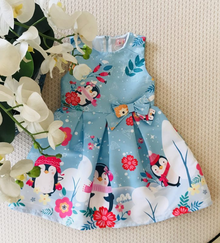 Vestido Casual Malagah Pinguins