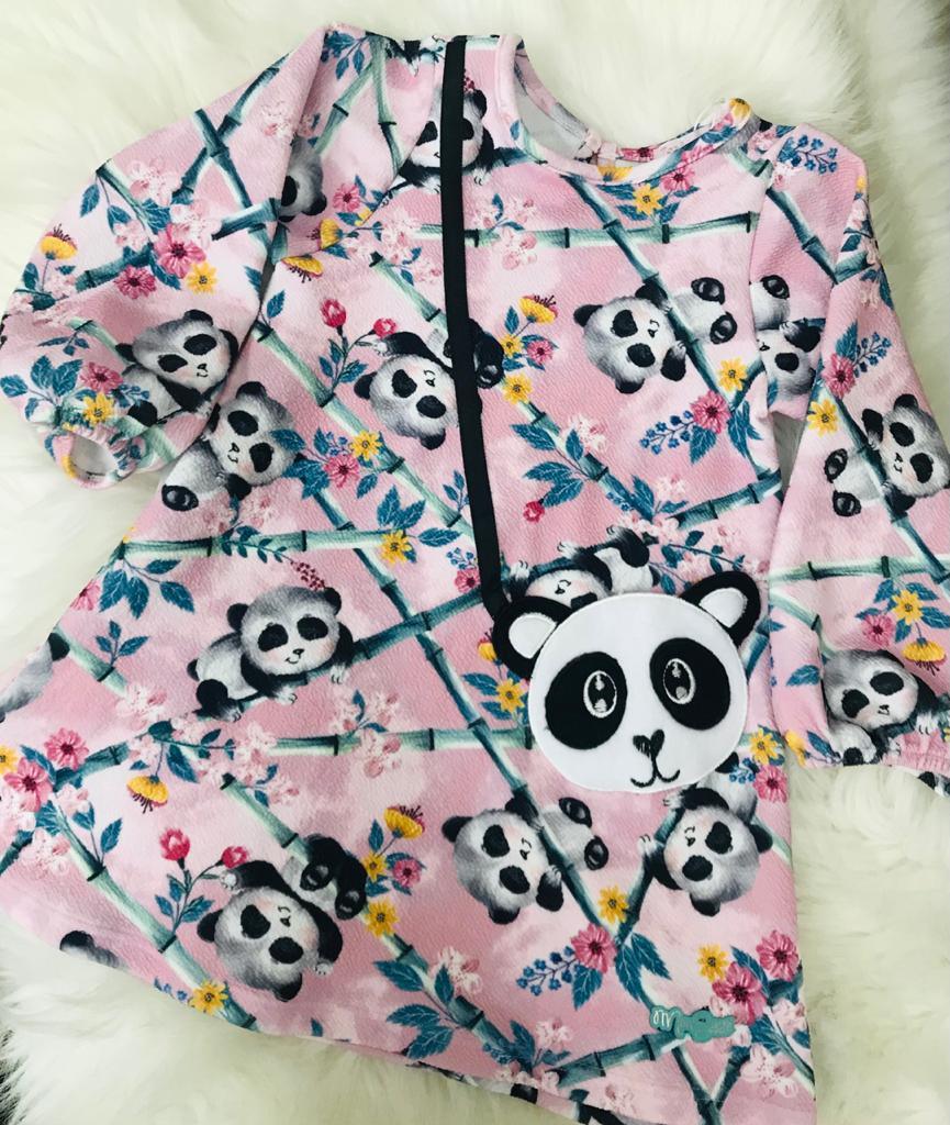 Vestido Casual Mon Sucré Panda