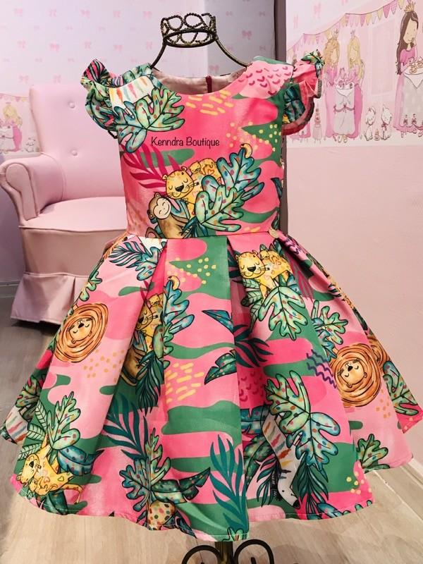 Vestido Mon Sucré Safari