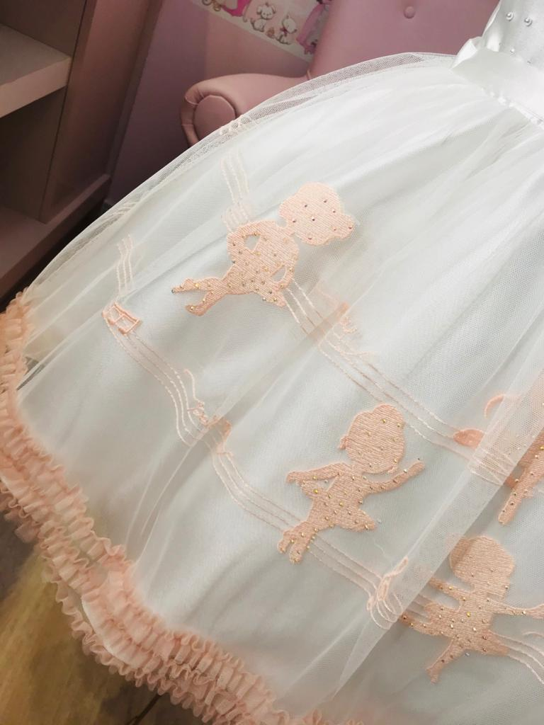 Vestido Petit Cherie Bailarina