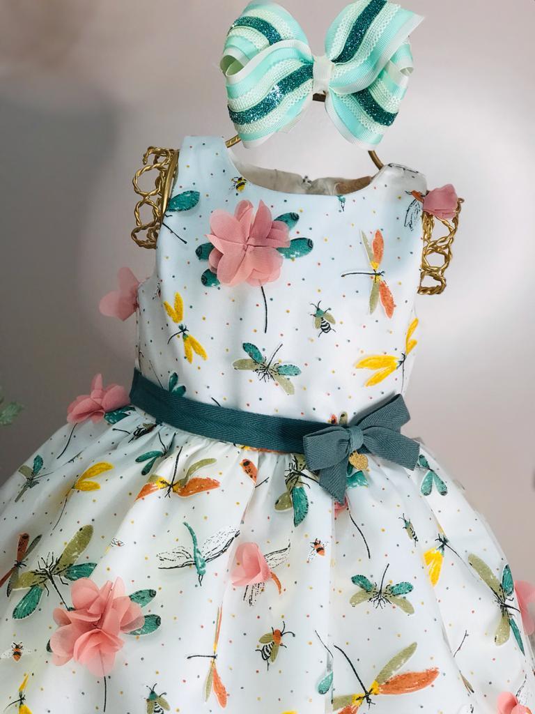 Vestido Petit Cherie Libélula