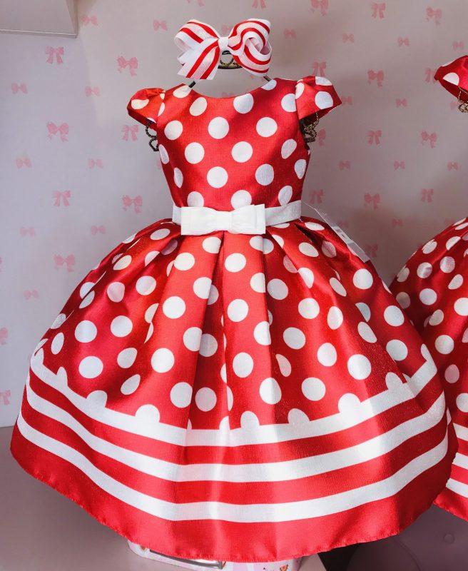 Vestido Petit Cherie Vermelho Poás