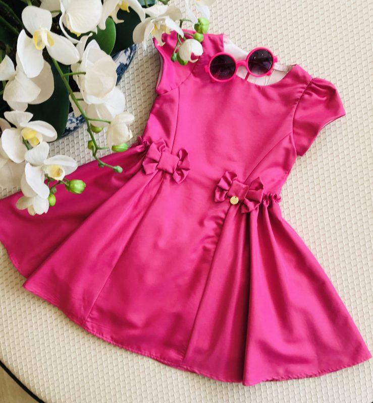 Vestido Pink Mon Sucré liso