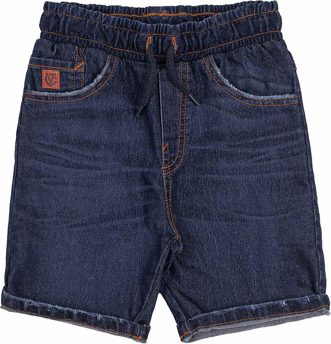 Bermuda Infantil Jeans Escuro Youccie