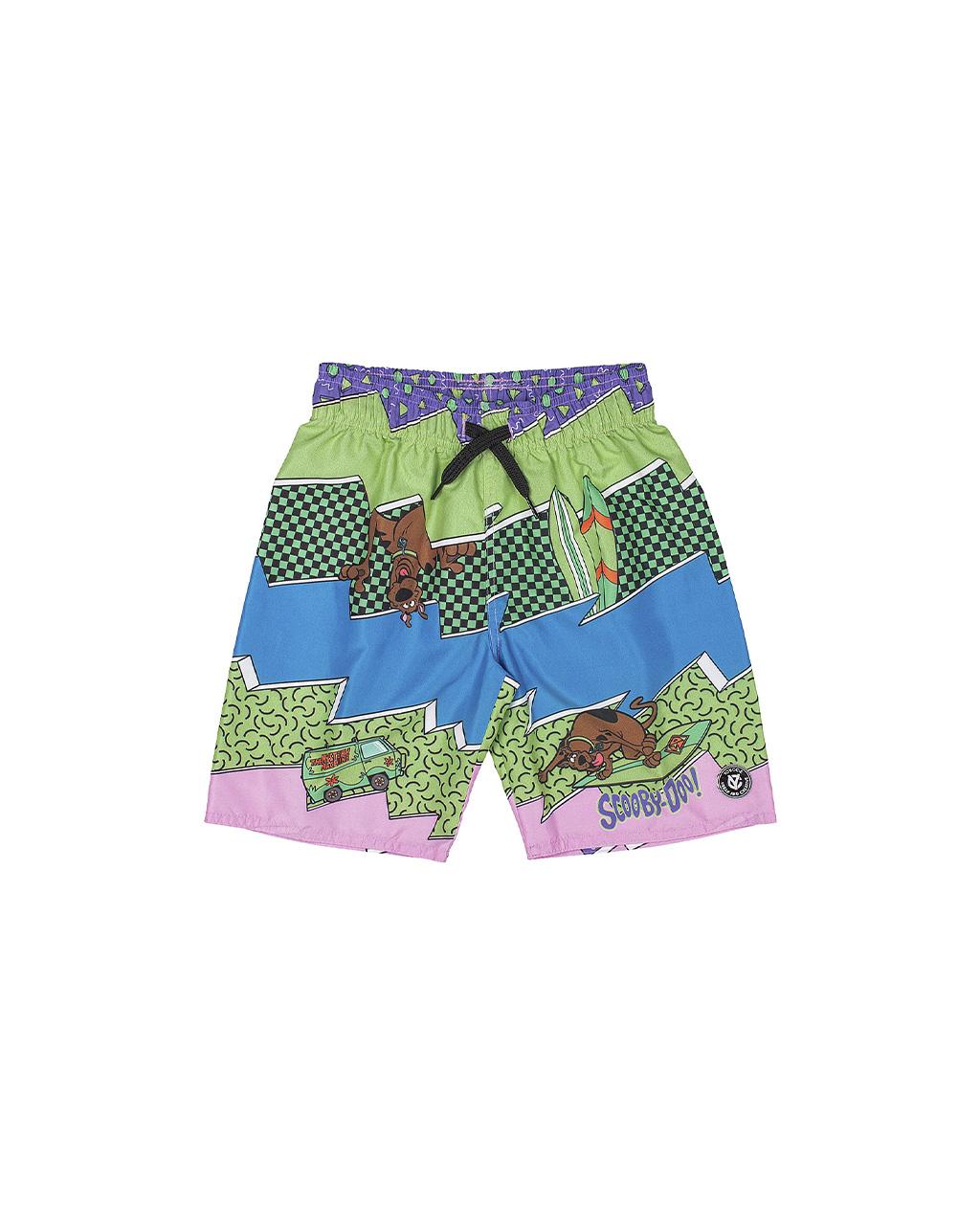 Bermuda Infantil Tactel Scooby-Doo Youccie