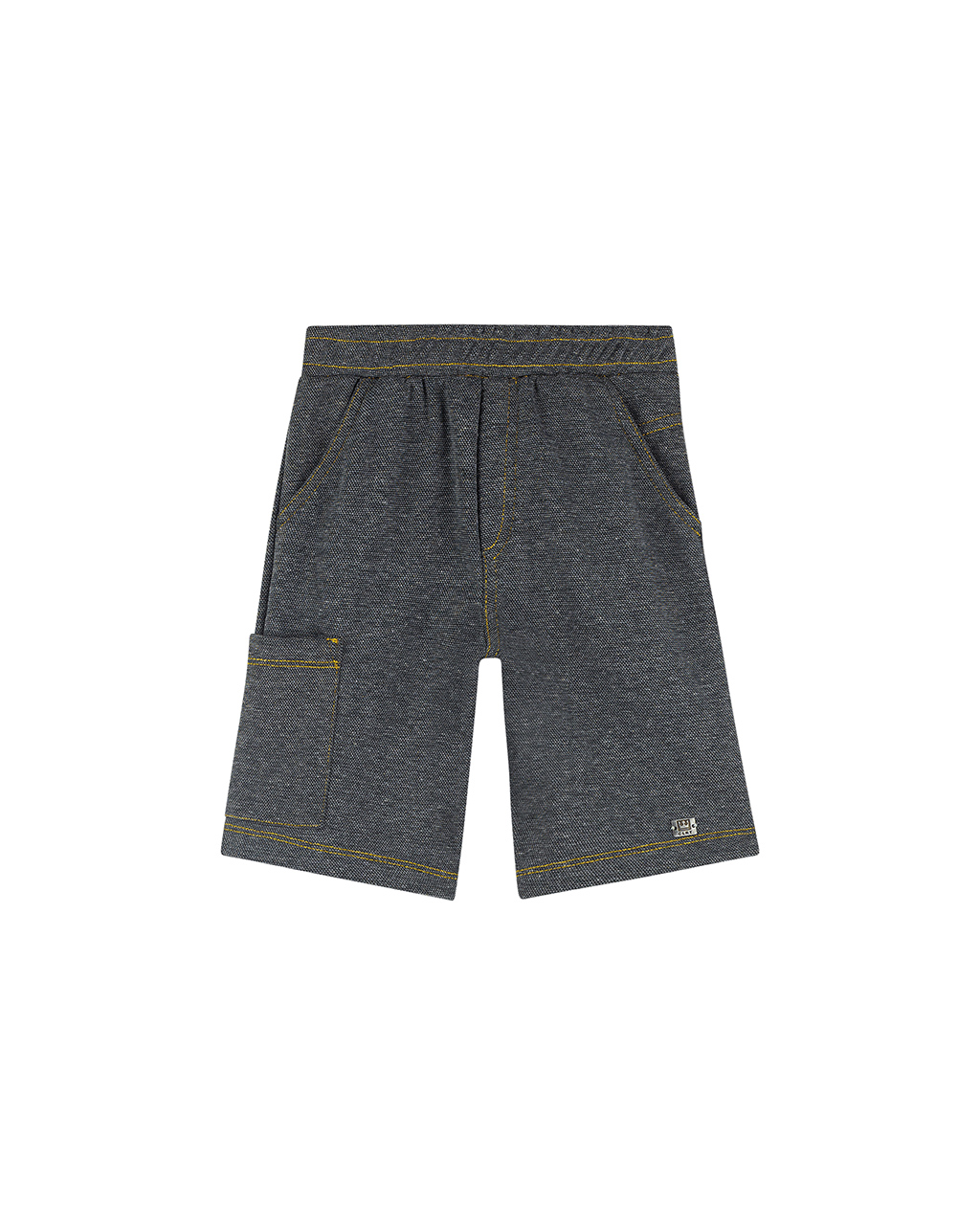 Bermuda Masculina Infantil Jeans Bolso Lateral Colorittá