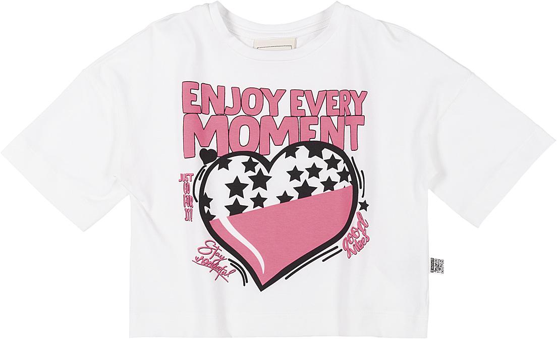 Blusa Infantil Beija Cós Aproveite cada Momento Animê