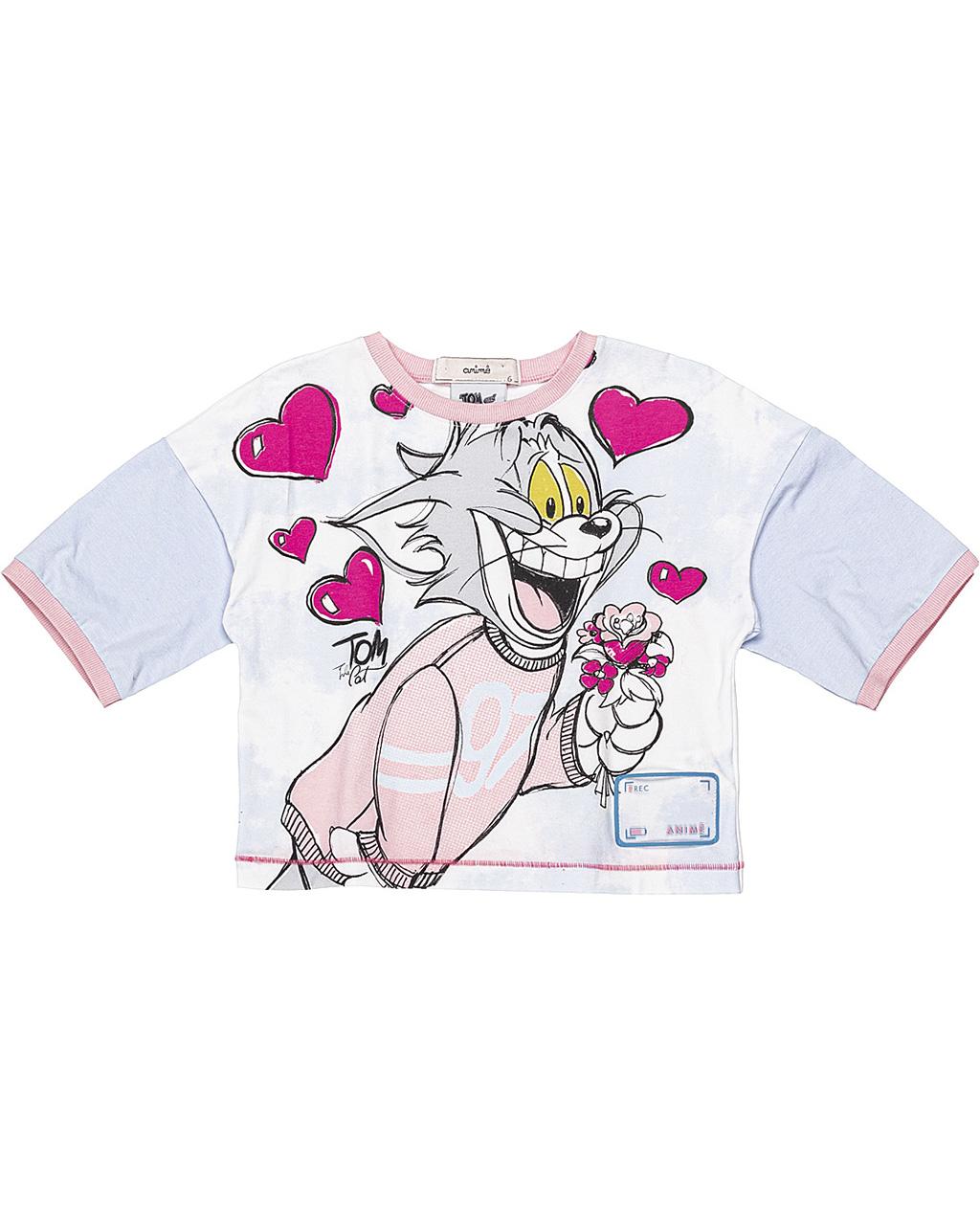 Blusa Infantil Tom e Jerry Animê