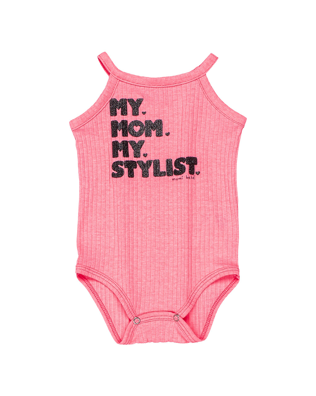 Body Bebê Canelado My Mon My Stylist Momi