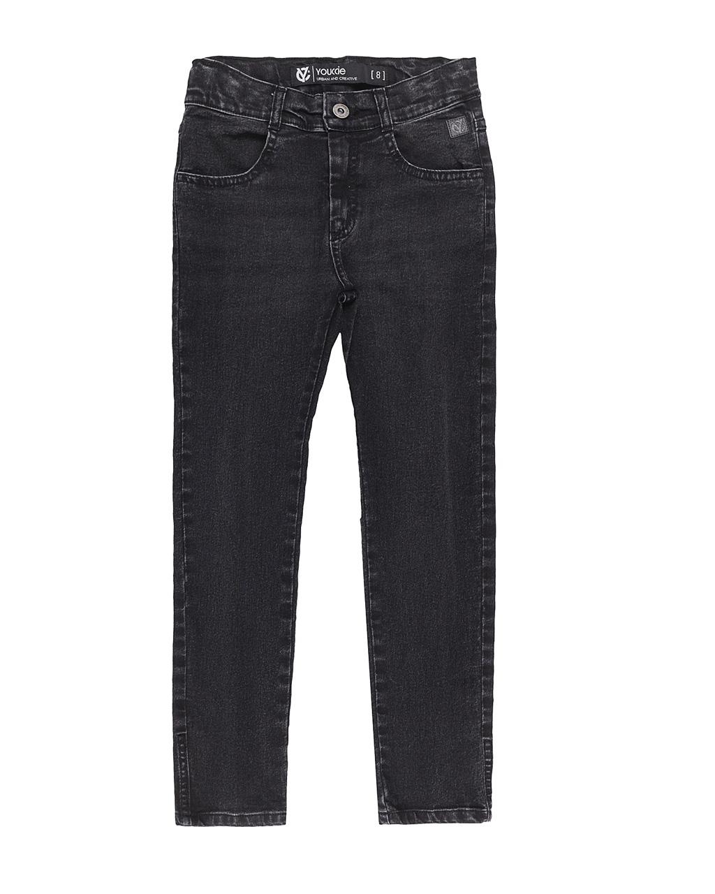 Calça Infantil Jeans Preto Youccie