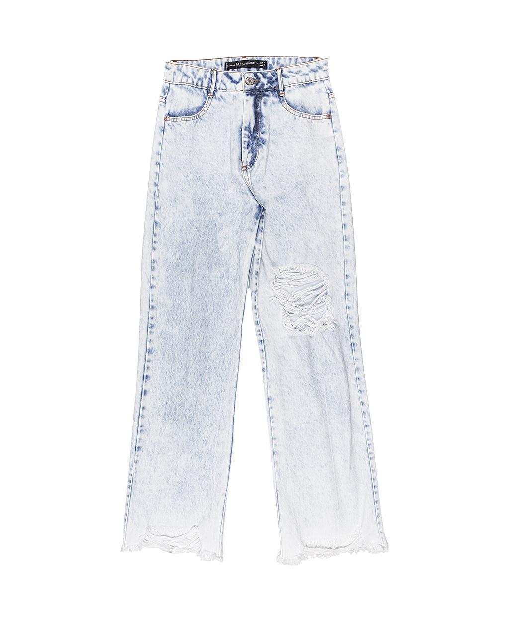 Calça Teen Jeans Denim Wide Authoria
