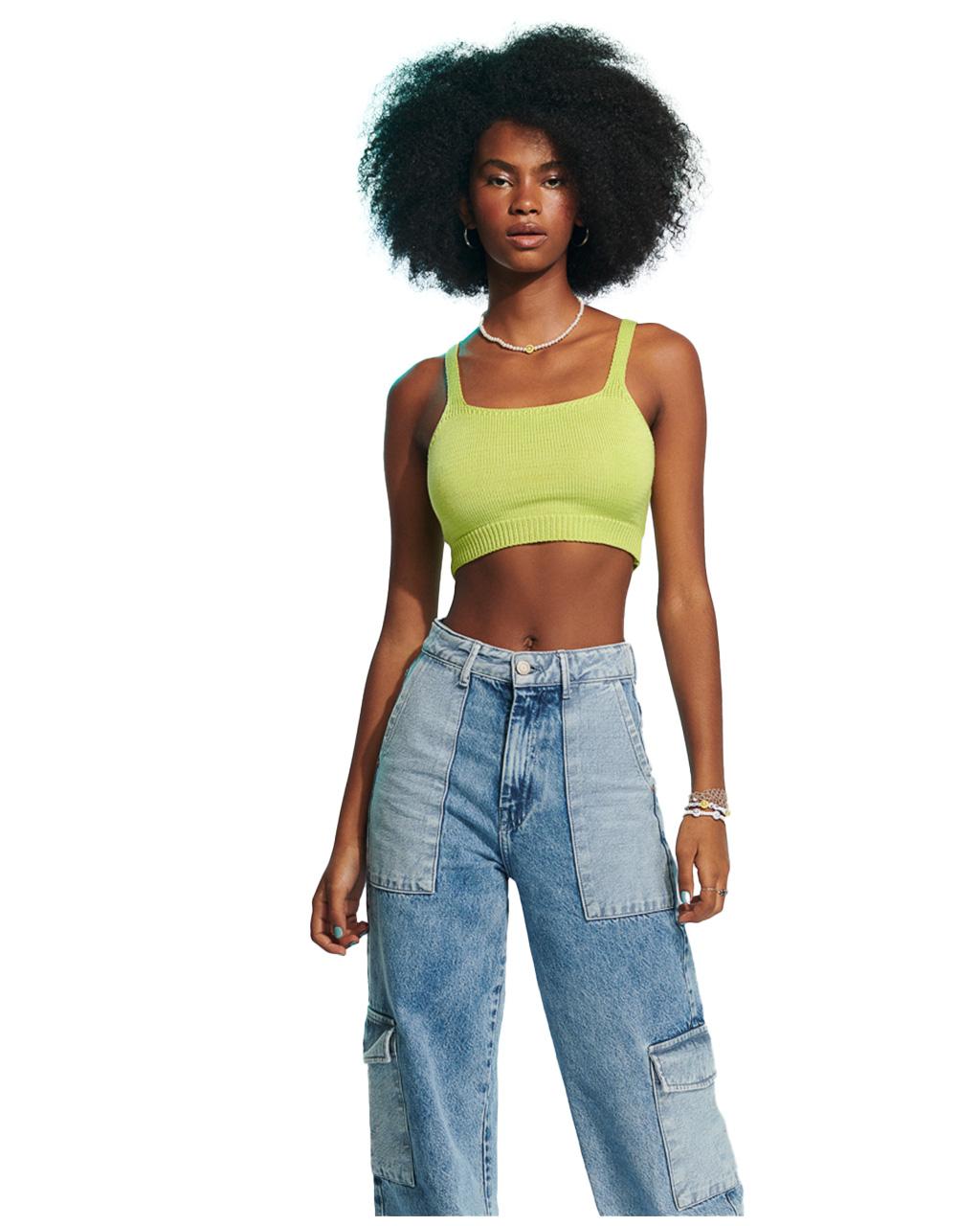 Calça Teen Wide Leg Jeans Authoria