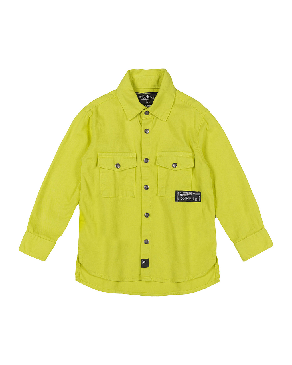 Camisa First Sarja Amarelo Youccie