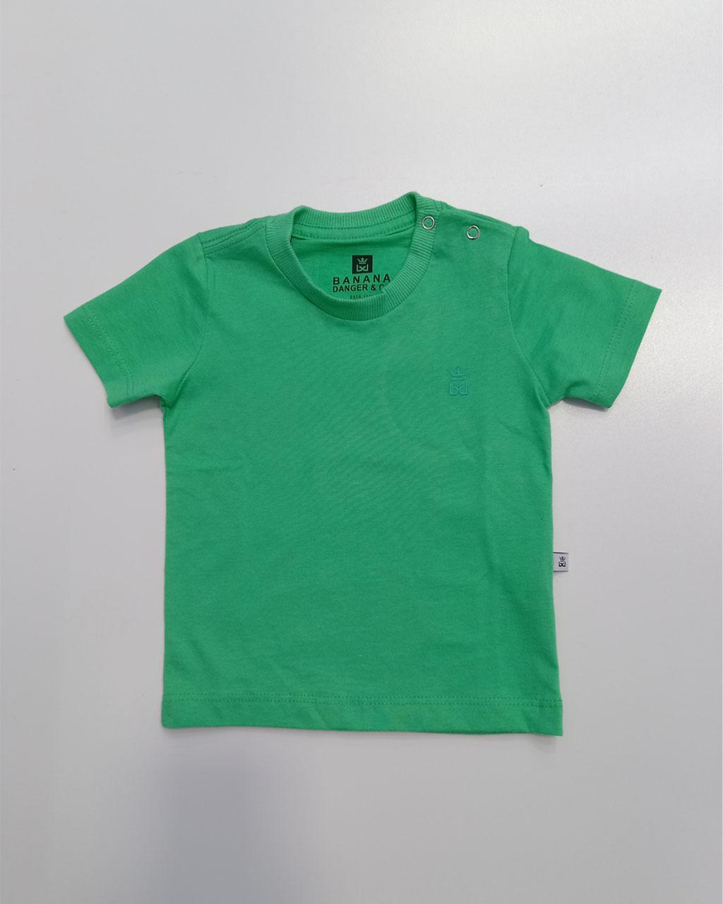 Camiseta Basica Verde Menta Banana Danger