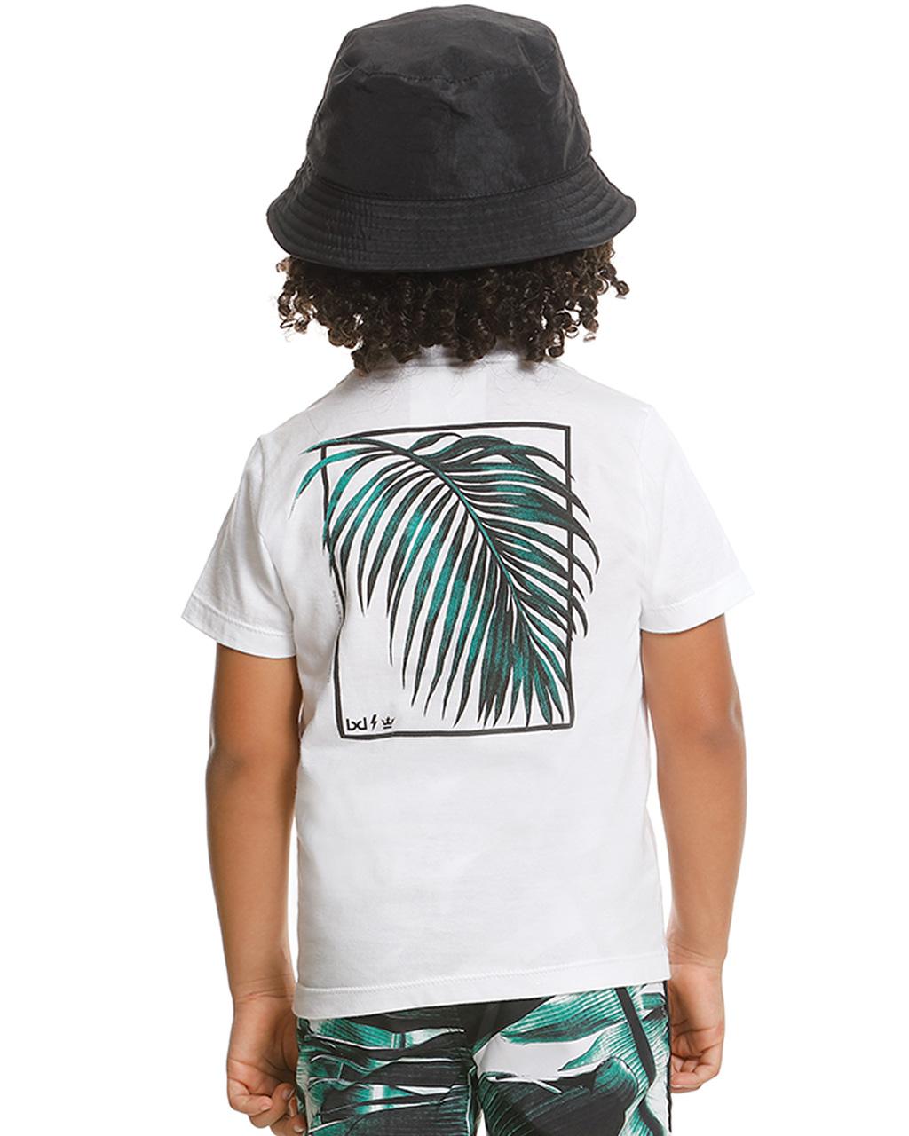 Camiseta Infantil Off White Banana Danger