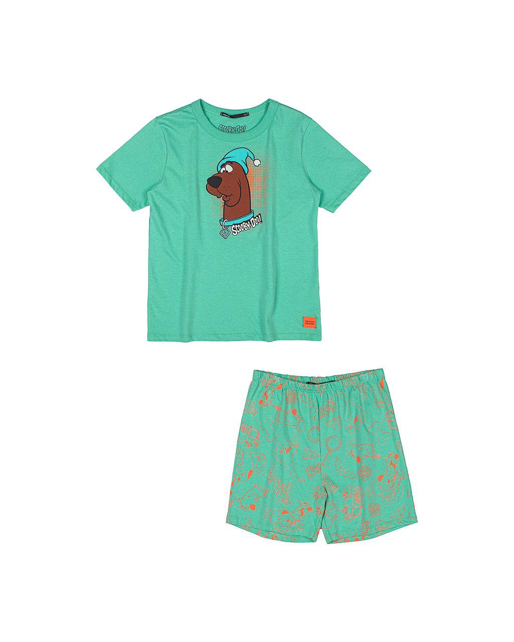 Conjunto Infantil Pijama Scooby-Doo Verde Youccie