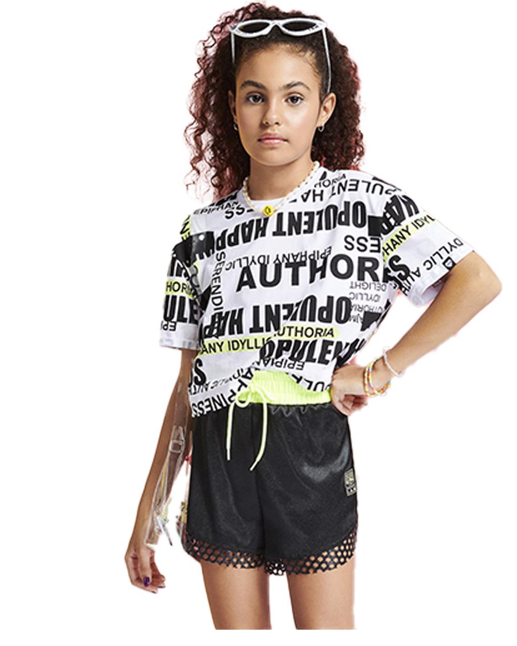 Cropped Teen Escritas I Am