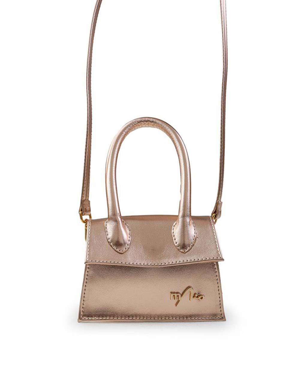 Mini Bag Infantil Pochete Dourada Menina Rio