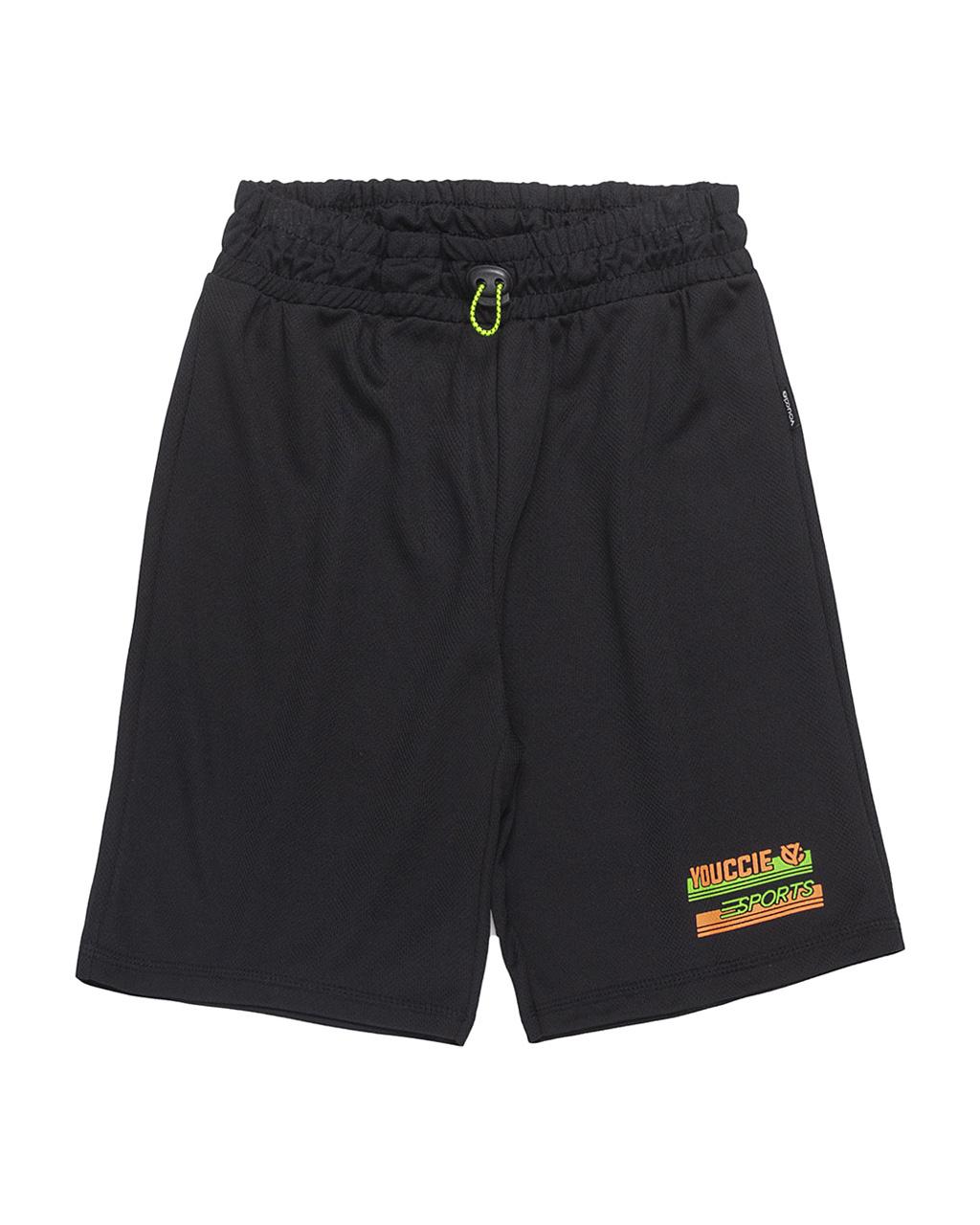 Shorts Infantil Active Basic Esporte Detalhes Neon Youccie