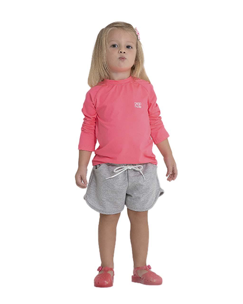 Shorts Infantil Moletom Fifty Pega Mania