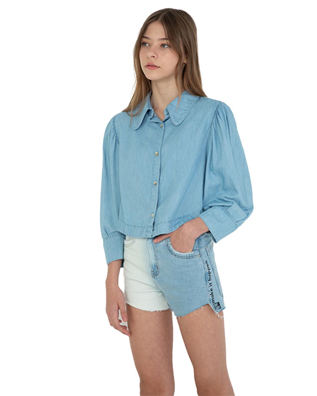 Shorts Jeans Feminino Teen Dimy Candy