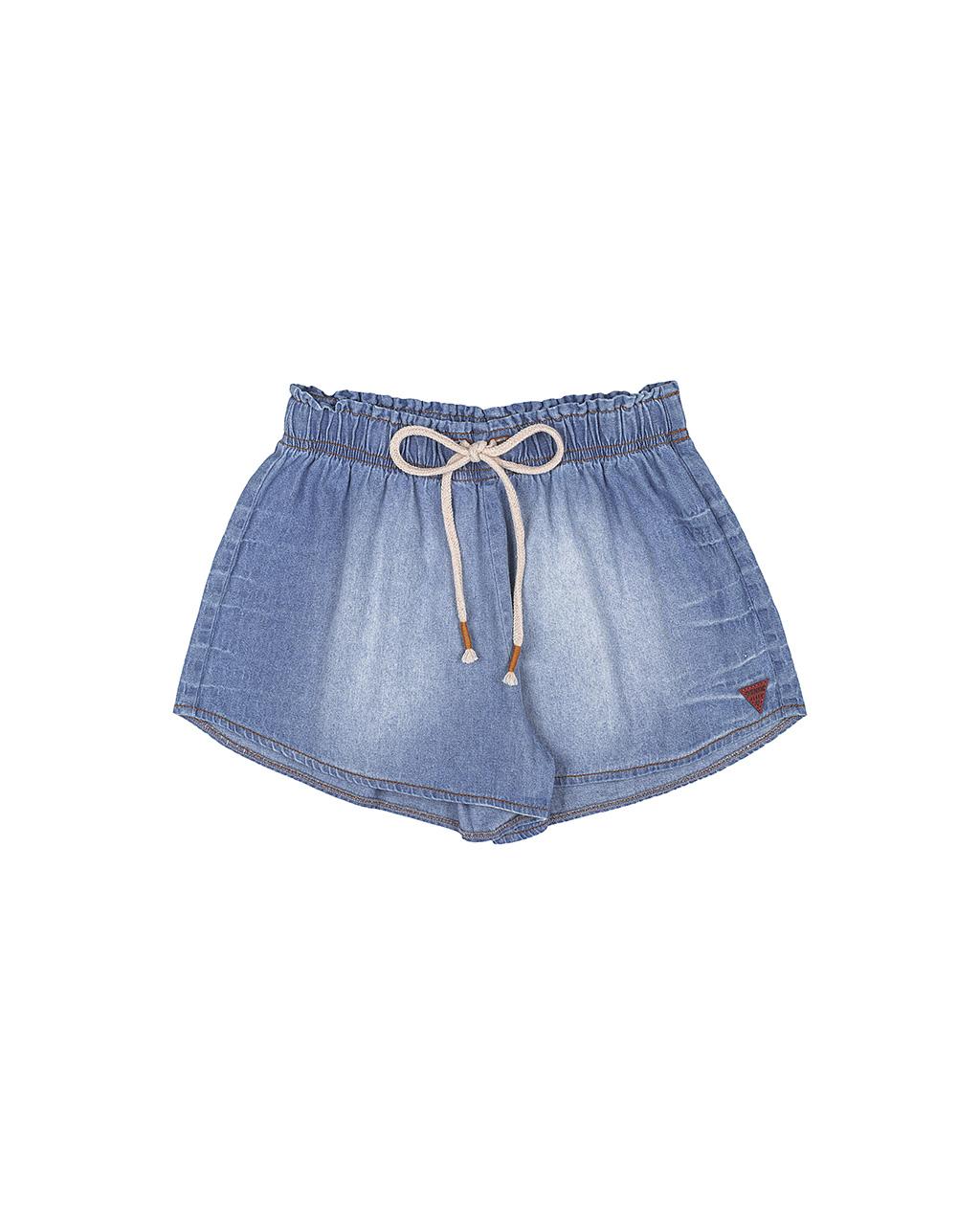 Shorts Teen Jeans Molinho Cos Elastico I Am