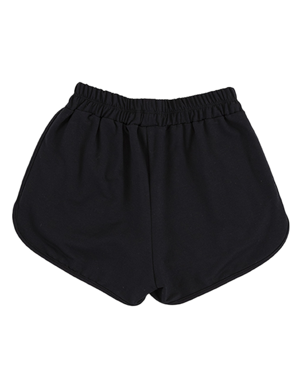 Shorts Teen Regulagem Lateral Preto Two In