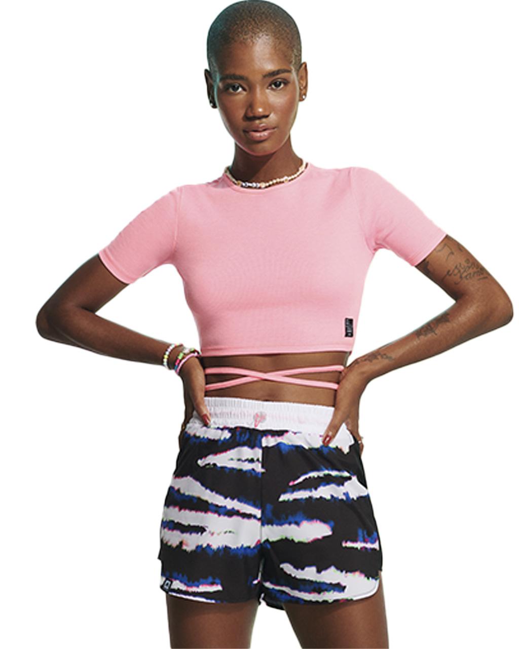 Shorts Teen Tie Dye Tiger Authoria