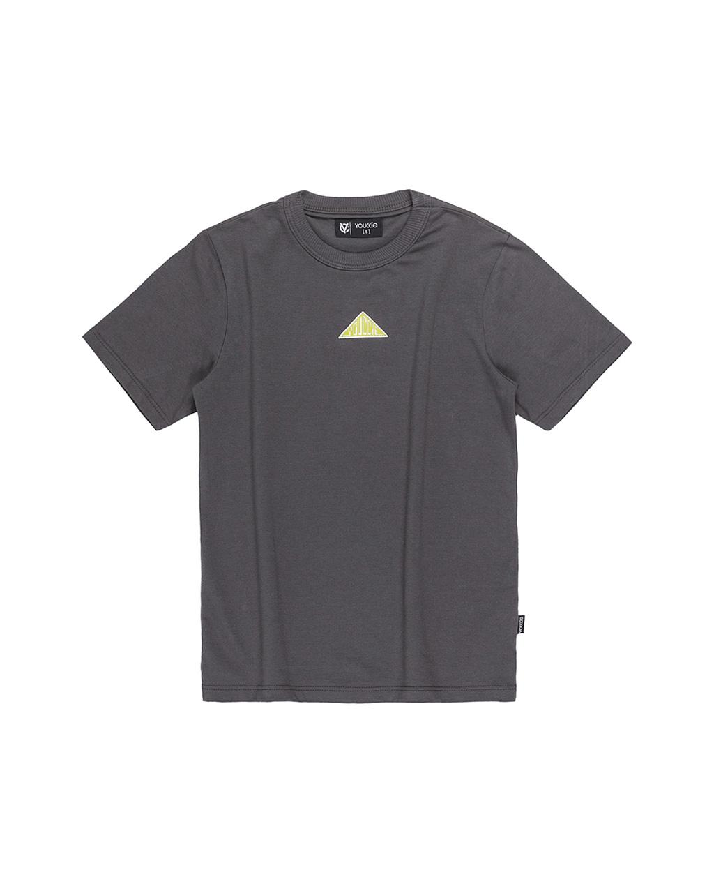 T-Shirt Básica Masculina Chumbo Youccie