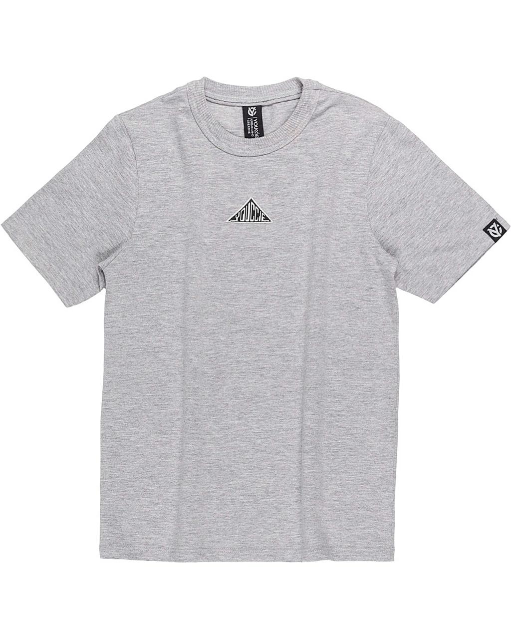 T-Shirt Básica Masculina Mescla Youccie