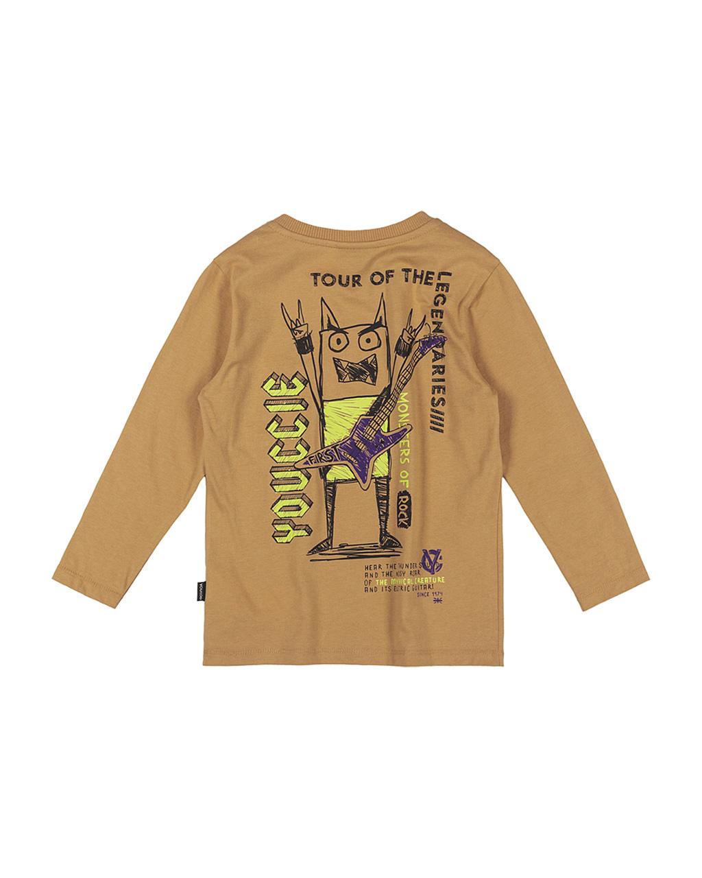 T-Shirt First Com Bolso E Arte nas Costa Youccie