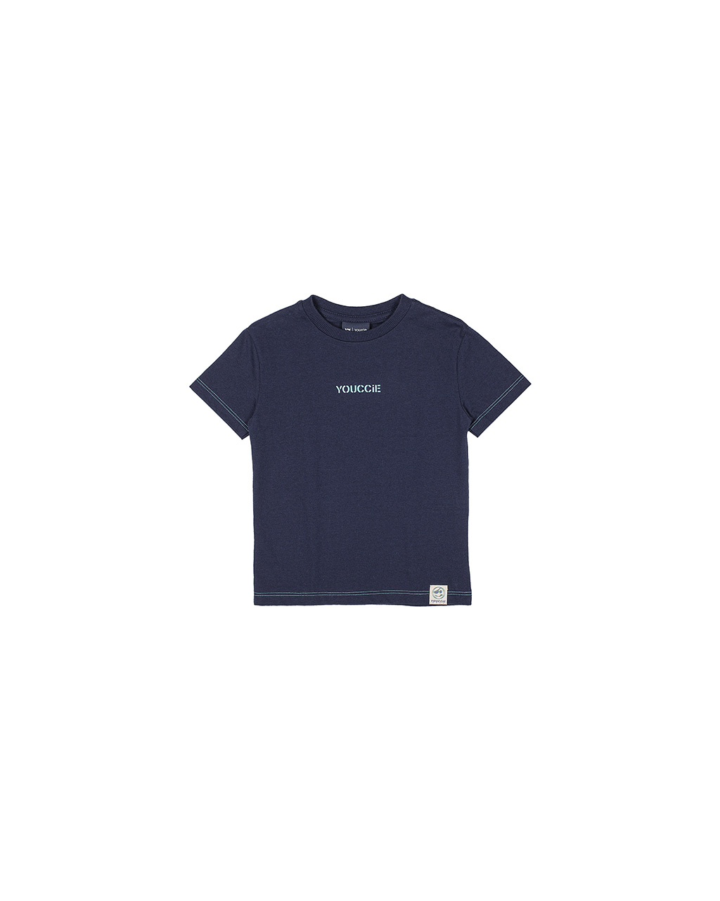 T-Shirt Infantil Basica Azul Youccie
