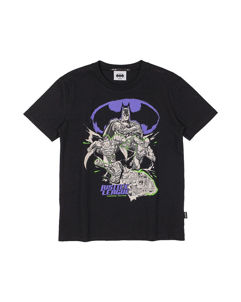 T-Shirt Infantil Batman Preto Youccie