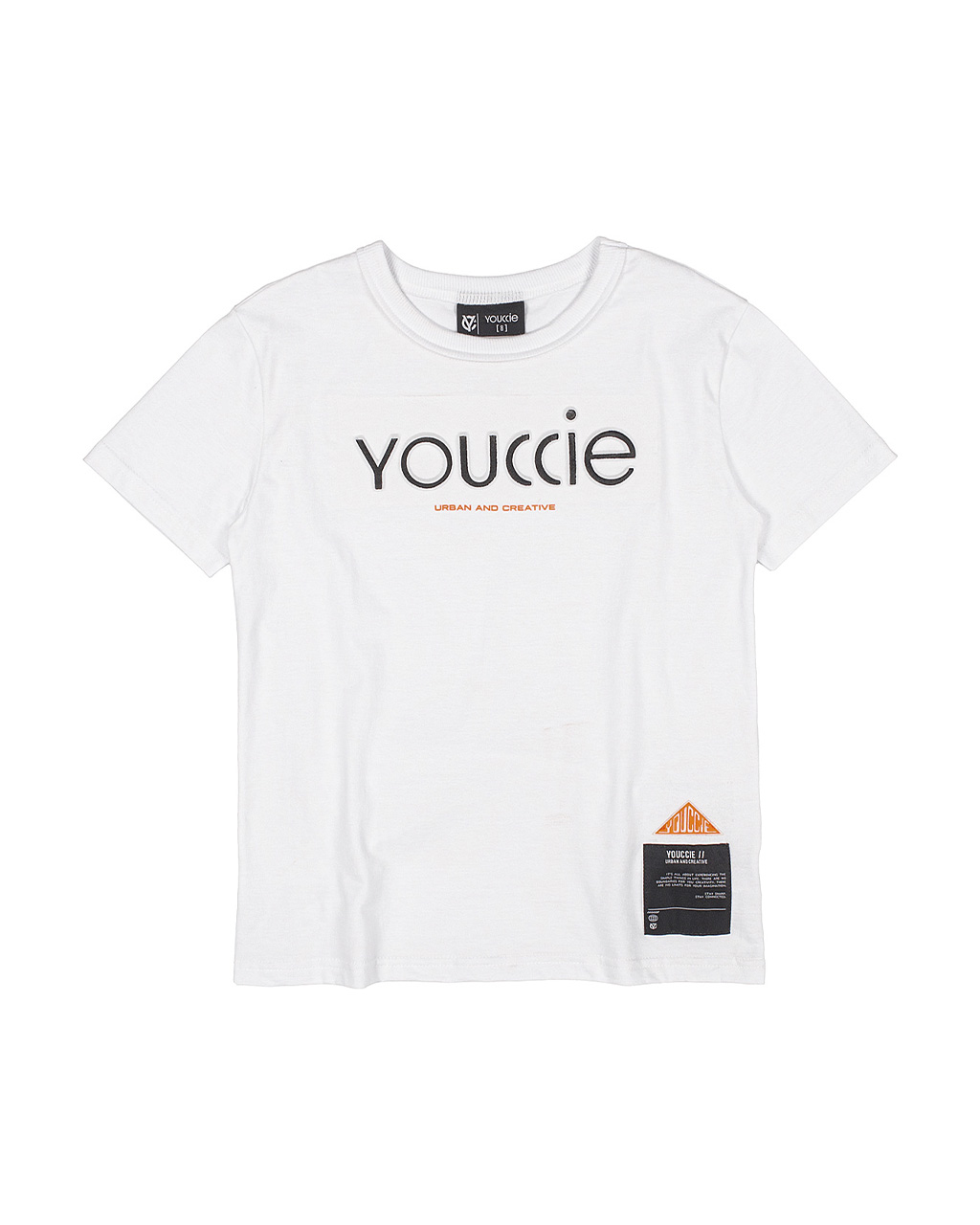 T-Shirt Infantil Creative Off White Youccie