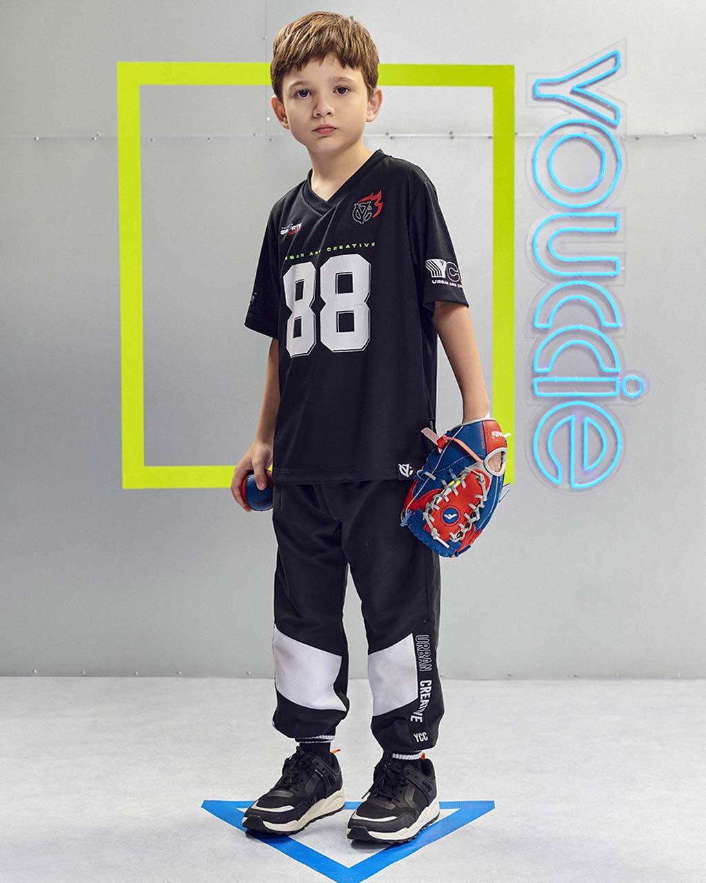 T-Shirt Infantil Malha Silk 88 Esporte Youccie