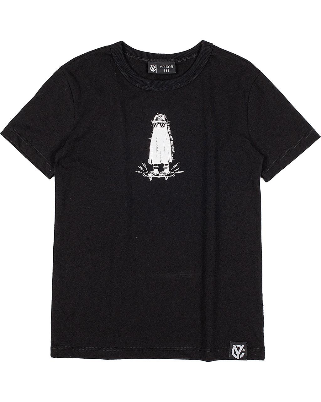 T-Shirt Infantil Preto Youccie