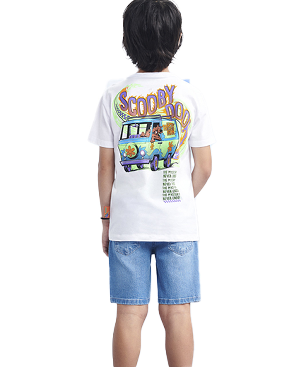 T-Shirt Infantil Scooby-Doo Off White Youccie