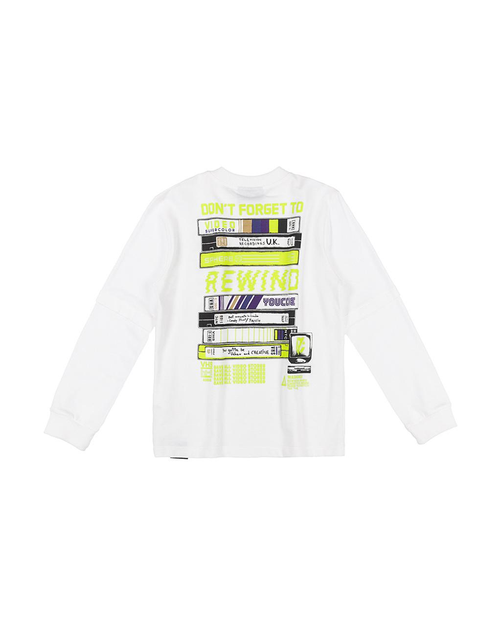 T-Shirt Moletino Arte TV Skate Off White Youccie
