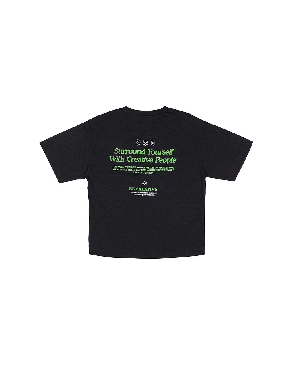 T-Shirt Teen Get Inspired Preto Authoria