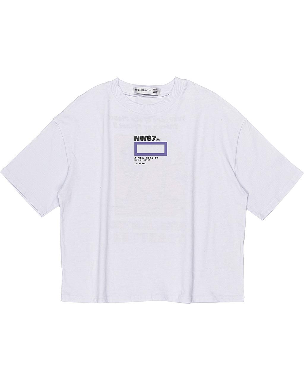 T-Shirt Teen Off White Authoria