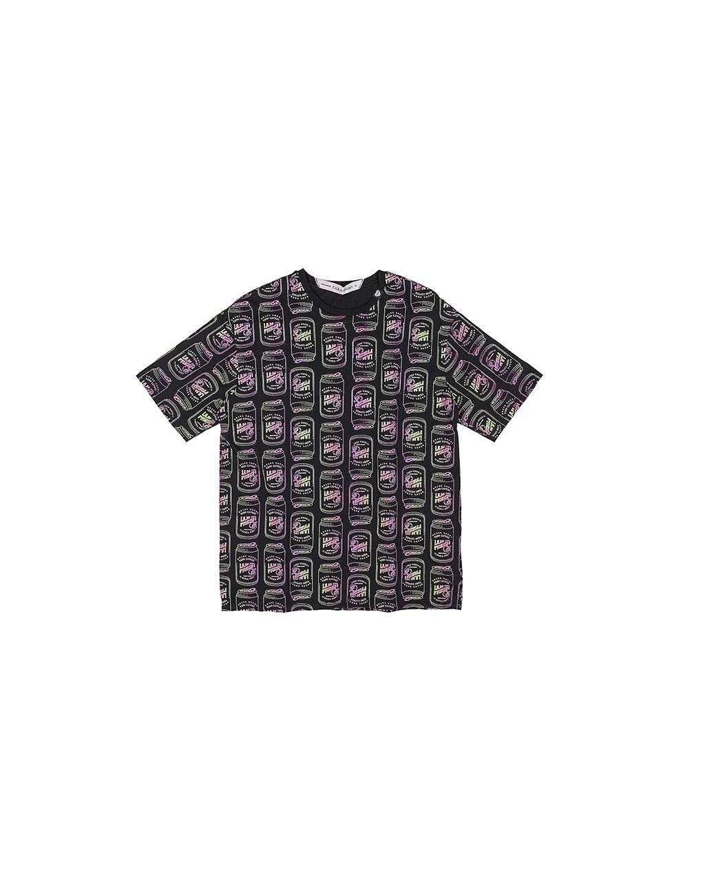T-Shirt Teen Soda Preta I Am