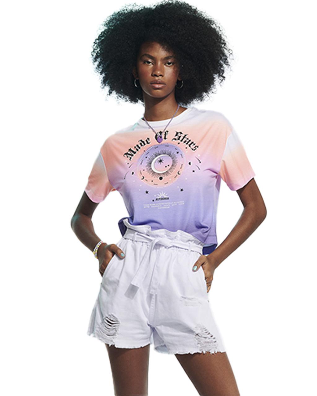 T-Shirt Teen Tie Dye Color Authoria