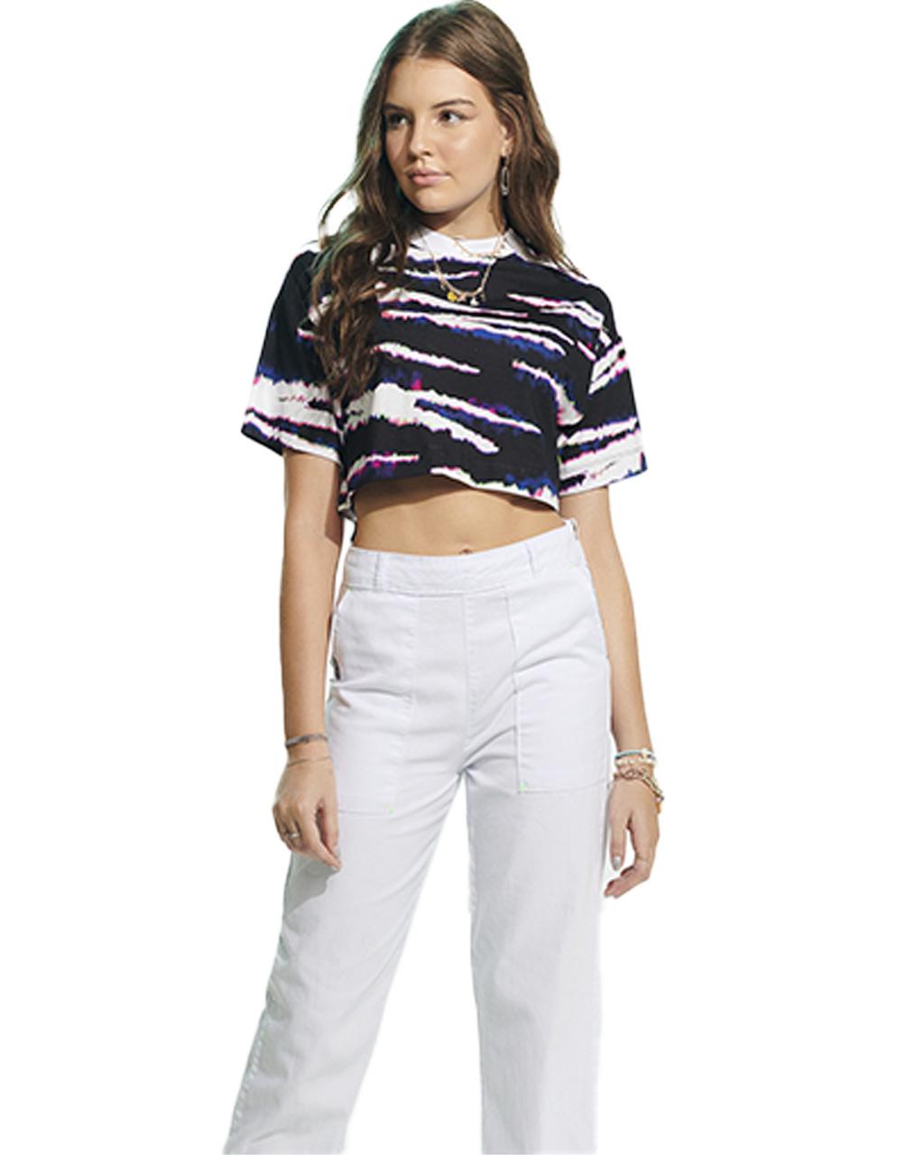 T-Shirt Teen Tie Dye Tiger Authoria