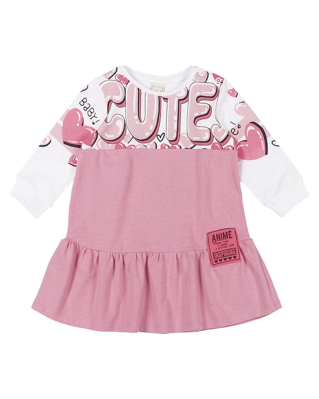 Vestido Baby Cotton Cute Animê