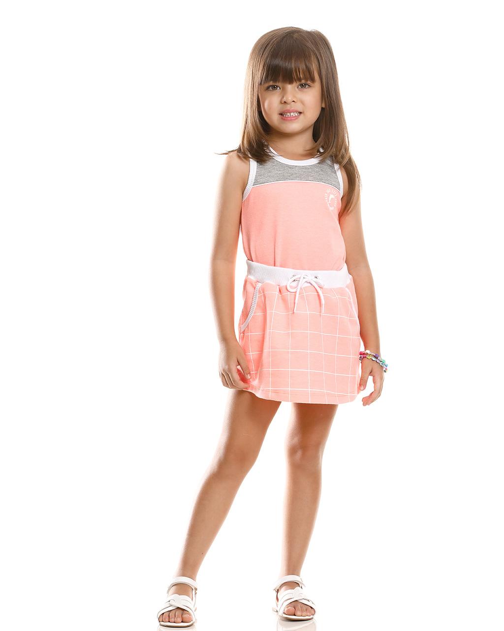 Vestido Regata Infantil Poah Noah