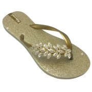 Blessed Luxo Gold Floral Dourada