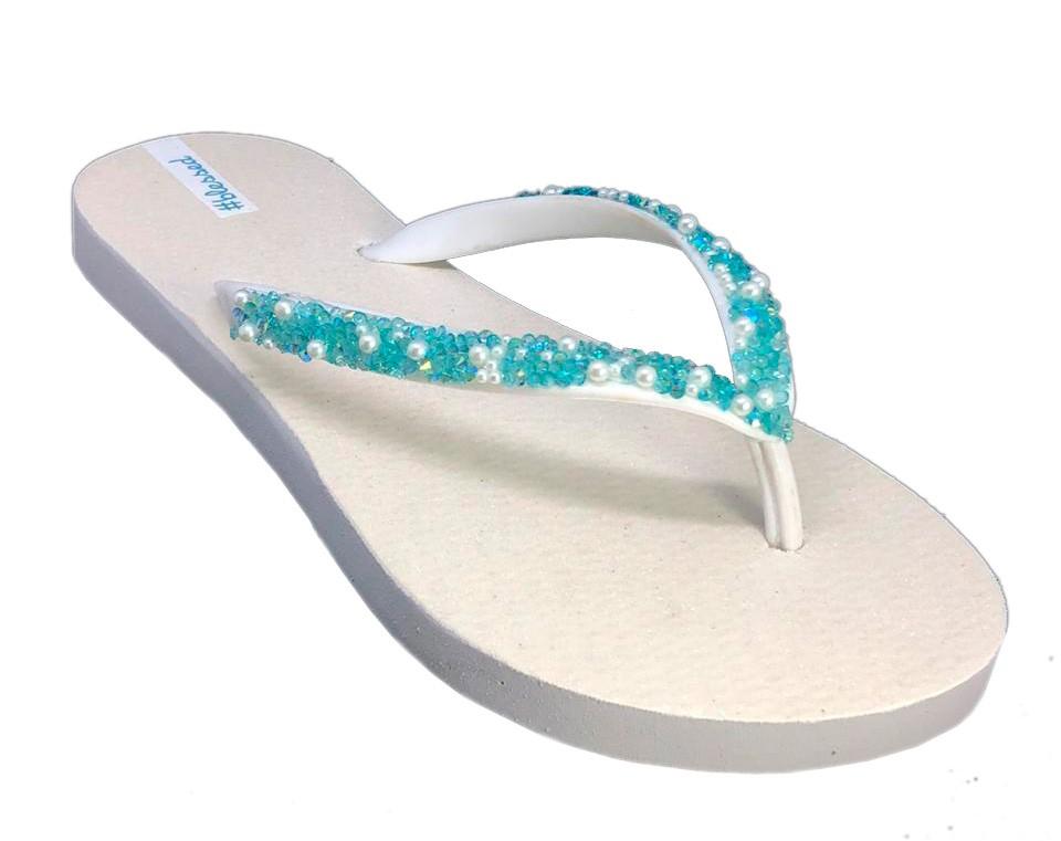 Blessed Diamond Branco/Azul